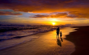 ChrisSligh_father-son-sunset